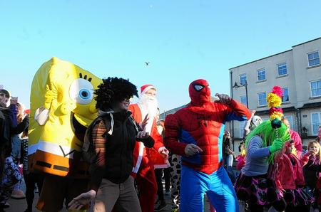 The Harlem Shake was recorded at the Herne Bay clock tower.