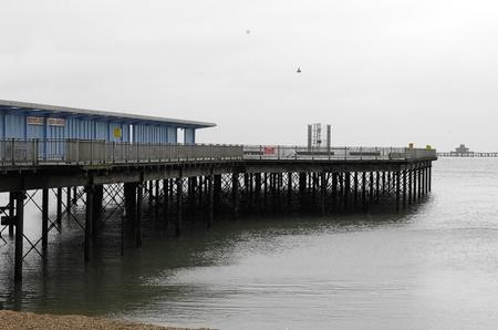 Demolition has been completed of the Herne Bay Pier Pavilion