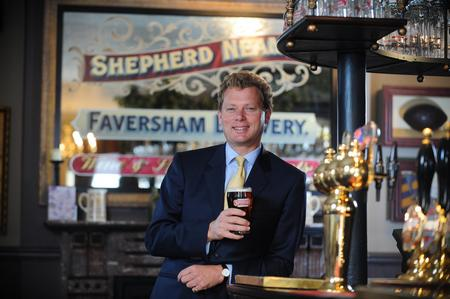 Jonathan Neame, CEO, Shepherd Neame