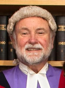 Judge Michael O'Sullivan, who has retired from Canterbury Crown Court.