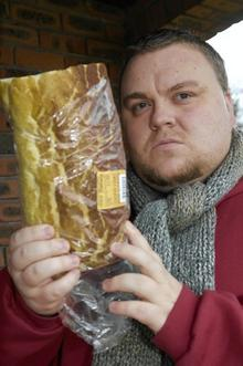 Jaedan Wintersong who discovered glass in a loaf he bought at Park Farm, Tesco