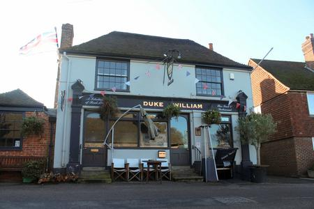 The Duke William pub in Ickham