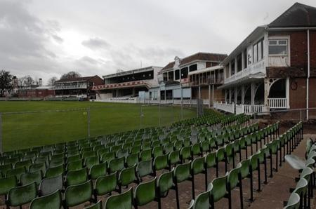 Work ongoing at Kent County Cricket Club
