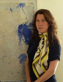 Updown Gallery owner and curator Kate Smith