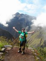 Maria Langworthy on the Inca Trail in Peru