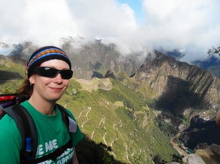 Maria Langworthy on the Inca Trail