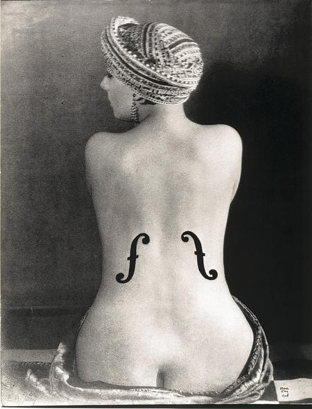 Le Violon d'Ingres, 1924 by Man Ray. Museum Ludwig @Man Ray Trust. Copywright National Portrait Gallery