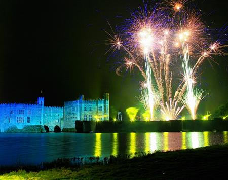 Fireworks are a must-see at Leeds Castle