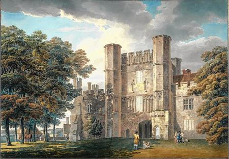 The Gatehouse of Battle Abbey, Michael, from the Royal Academy Constable exhibition