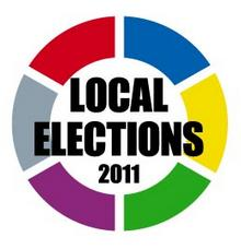 Local elections 2011 logo