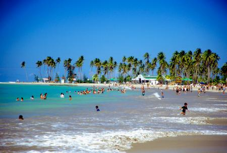 Luguillo Beach, Puerto Rico.