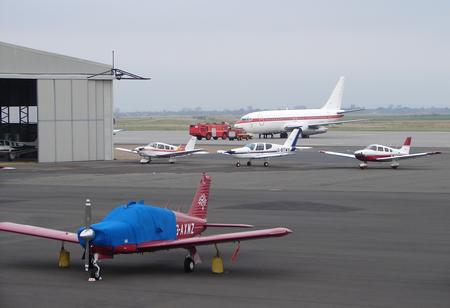 Aircraft at Lydd Airport