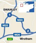 M20 fatal crash site.