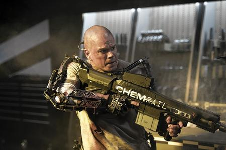 Matt Damon stars in Columbia Pictures' Elysium