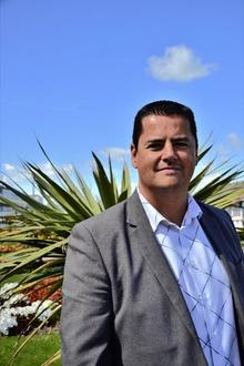 Gerald McCarthy, who formed the Bay Promo Team, wants to put palm trees on Herne Bay seafront.
