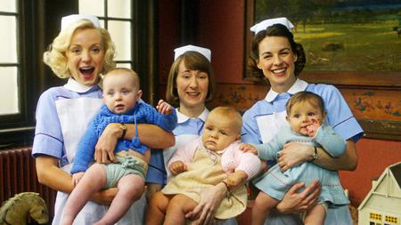 Cast from BBC's Call the Midwife