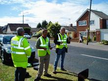 The Minster Speed Watch in action