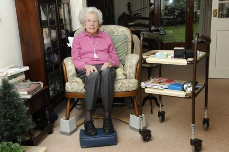 Freda McGregor, 102, had her walking frame stolen from outside her front door in Wrotham