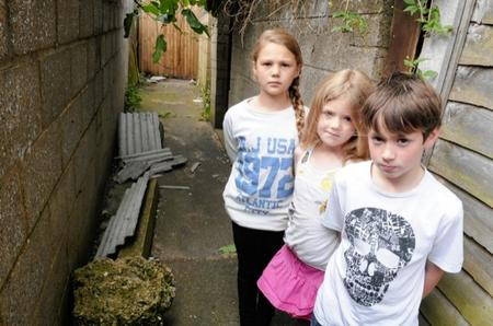 Anger As Children Play With Asbestos Dumped In Gillingham