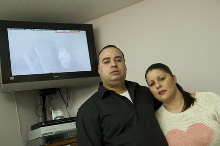 Doug and Veronica Quipp were traumatised by a burglary caught on CCTV