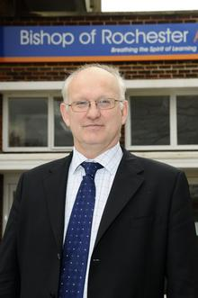 Colin Boxall, principal of the Bishop of Rochester Academy