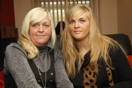 Lynne Simmonds - pictured with her daughter Laura Simmonds – says she is desperate to know what has happened to her other daughter Rebecca