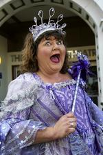 Cheryl Fergison as the Fairy Godmother at Chatham's Central Theatre