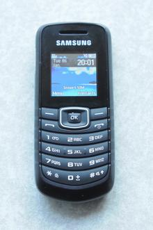 The Samsung mobile phone that had Keith Bryan's contacts on it.