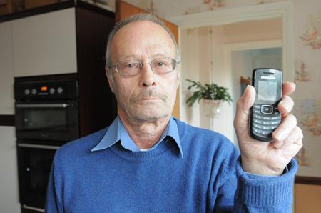 Keith Bryan's numbers were stored on another customer's mobile phone
