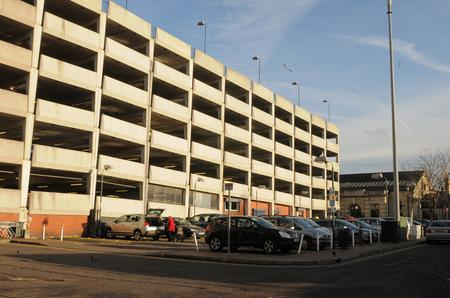 Medway Council car park at the Pentagon Shopping Centre, Chatham
