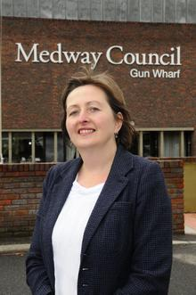 Barbara Peacock, new head of children and adult services