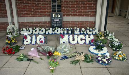 Nick Tunstill's funeral