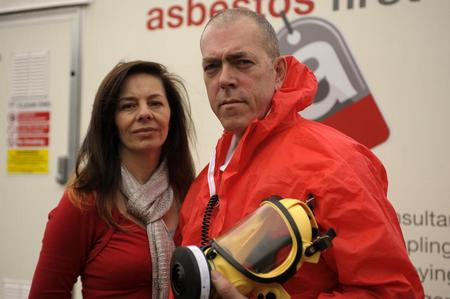 Debbie and David Hales, who run Lordswood surveying firm Asbestos First
