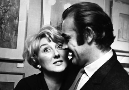 Olive Young, from Broomfield, with Sean Connery in the late 1960s.