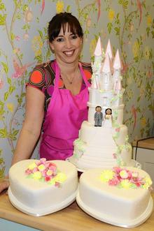 Cake maker Amanda Bishop made a cake for a bride- who then didn't pay for it.