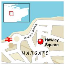 Body found in Hawley Square, Margate