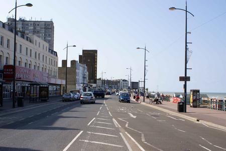 Margate seafront before planned revamp