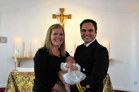 Angela and Mark Thomas with their son Rowan