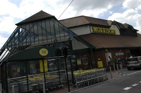 Morrisons in Coldharbour Road, Northfleet