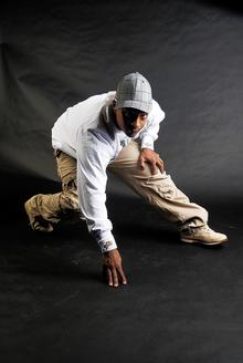 Street dancer Nick Numas will perform at the Fusion talent contest