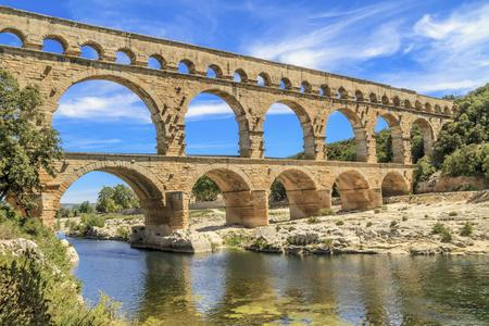 Nimes, a popular tourist destination in southern France