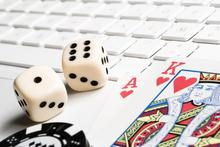 Online gambling (file picture)