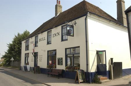 The Bull inn at Eastry.