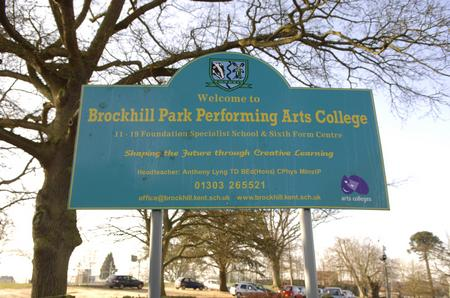 Brockhill Park Performing Arts College, Hythe