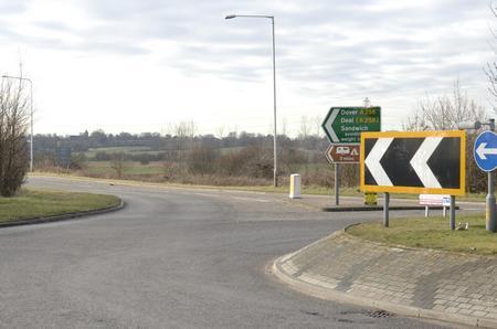 A256 near Sandwich