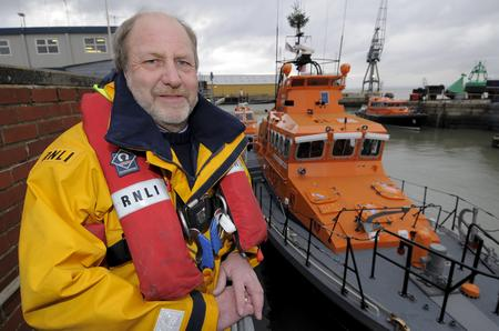 Robin Castle, of Sheerness RNLI