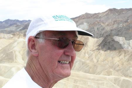 Jack Denness in Death Valley, July 2010