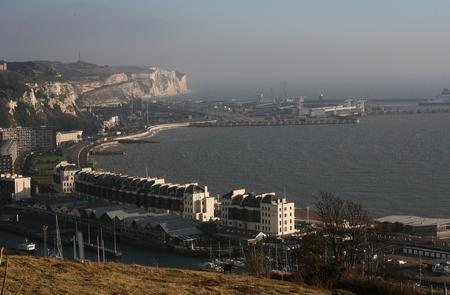 Dover Port from the Western Heights