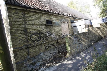 Former St Matthews Infants School, now derelict and vandalised.