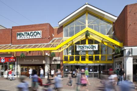 The Pentagon Shopping Centre, Chatham.